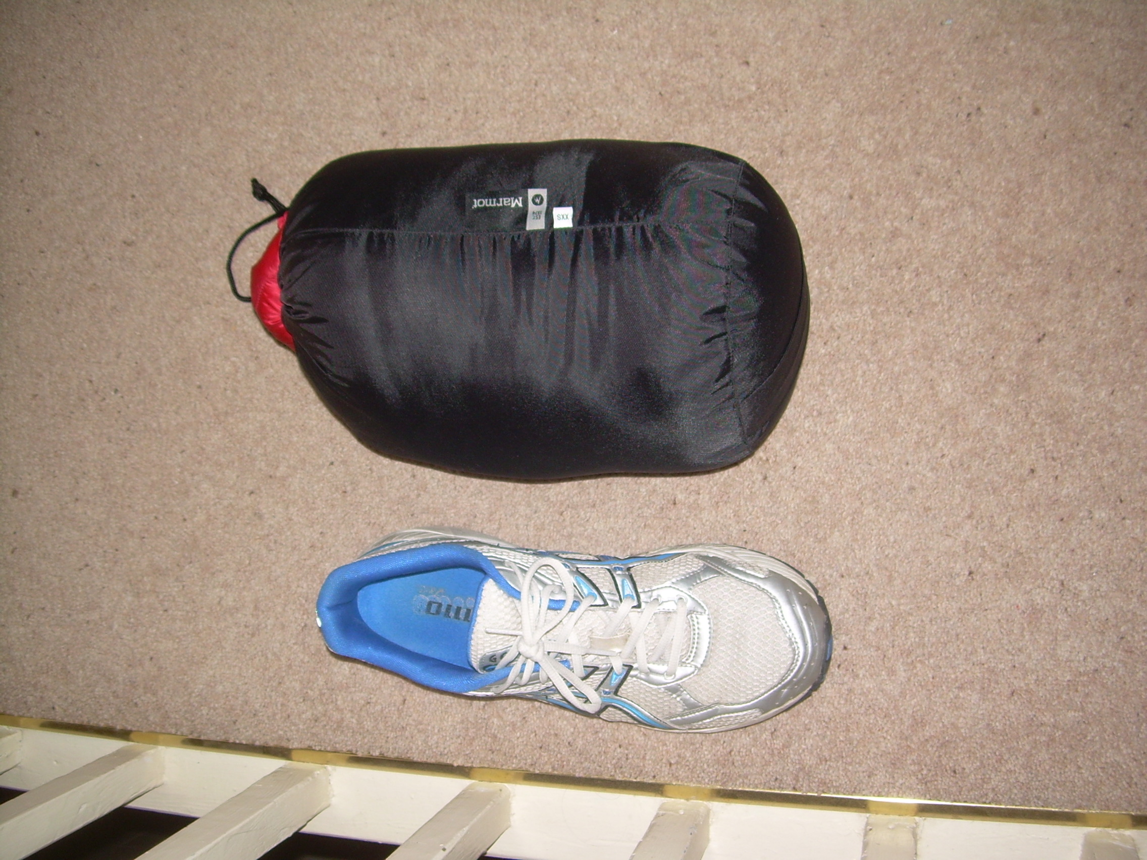 & compression bag for Marmot 3